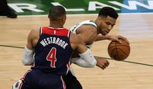 NBA》比爾42分威少大三元飲恨 字母哥率領公鹿險勝巫師