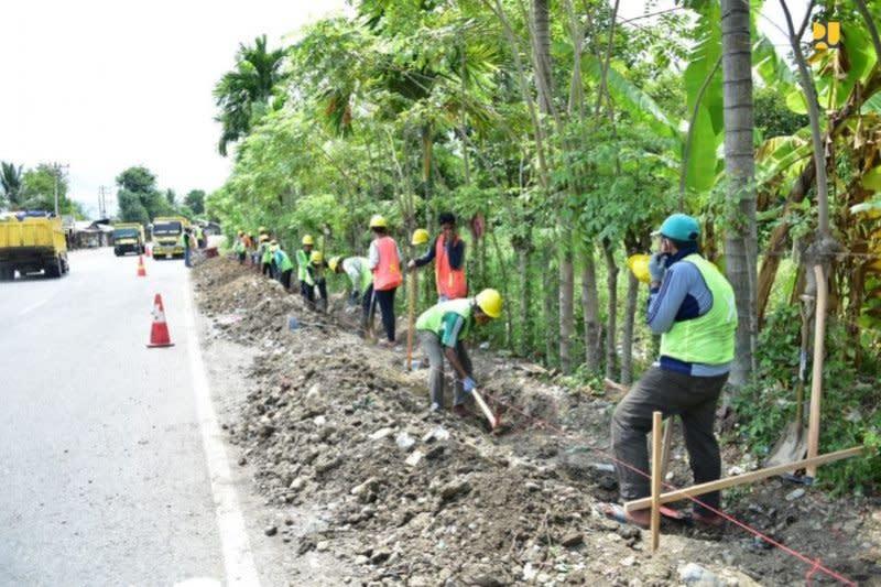 Kementerian PUPR perluas program padat karya tunai di 34 provinsi