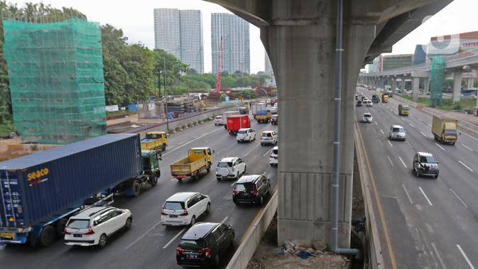 Jasa Marga Rekonstruksi Rigid Pavement KM 38 Tol Jakarta-Cikampek Minggu Depan