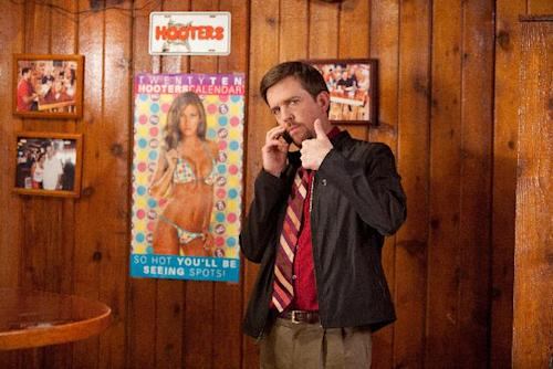 """In this film image released by Paramount Vantage, Ed Helms plays Pat in a scene from """"Jeff, Who Lives at Home."""" (AP Photo/Paramount Vantage, Hilary Bronwyn Gayle)"""