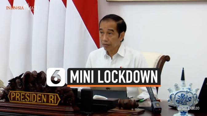 VIDEO: Jokowi Sebut Mini Lockdown Berulang Lebih Efektif Tangani Covid-19