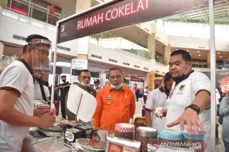 Sulawesi Tengah gelar pameran produk cokelat dan kopi di mall