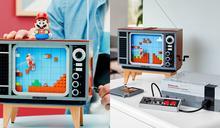 樂高x任天堂8/1聯名推出「任天堂復古遊戲機LEGO NES」!還有瑪利歐人偶隱藏版特效立刻看!