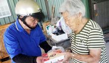 龍眼林福利協會供老人餐 頂新12年默默捐千萬紓困