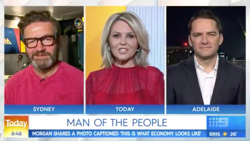 Lawrence Mooney and Georgie Gardner on Today show discuss Piers Morgan and Royal couple