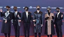 [MD PHOTO] 防彈少年團等歌手出席2020KBS歌謠大祝祭紅毯