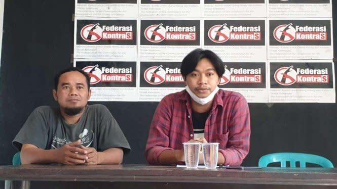 Kontras Sebut Tiga Anak Tersangka Demo Omnibus Law Ditelanjangi