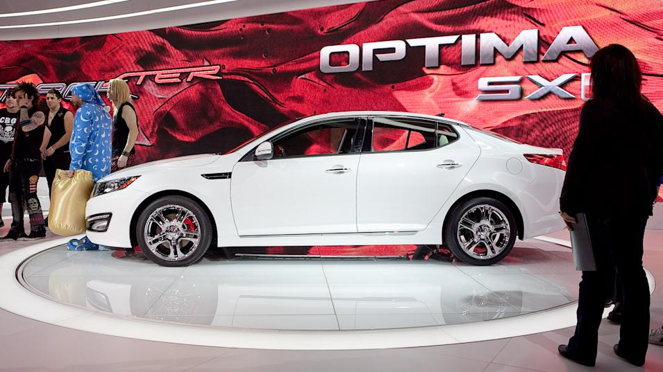 Kia Optima SX Limited
