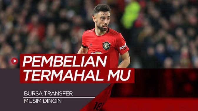 VIDEO: 5 Pembelian Termahal Manchester United pada Bursa Transfer Musim Dingin