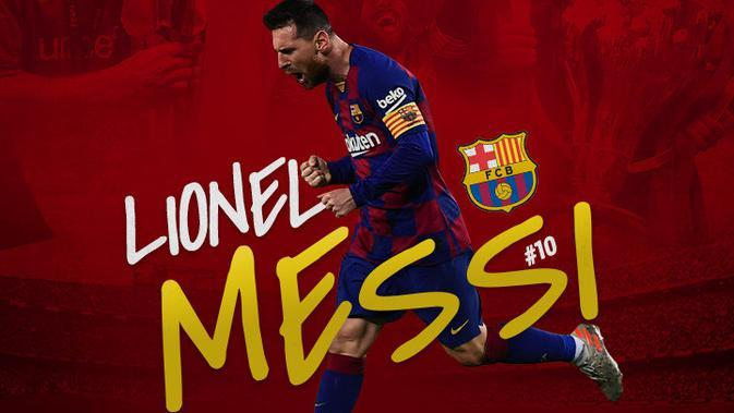 Barcelona - Lionel Messi (Bola.com/Adreanus Titus)