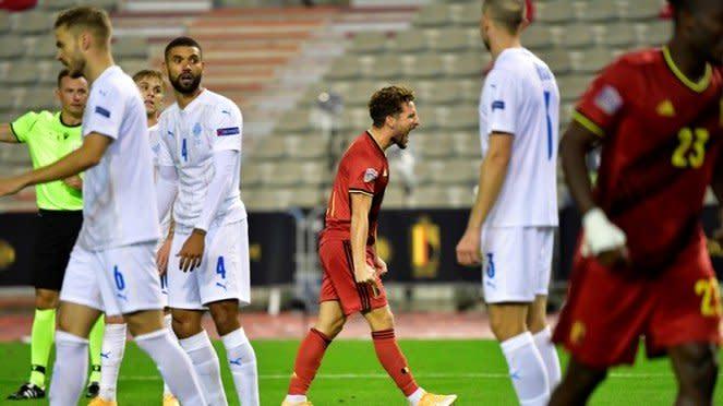 Pertandingan Timnas Belgia vs Islandia