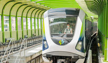 台中捷運12月19正式通車 尖峰每5分鐘1班