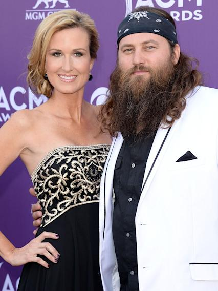 Korie Robertson and Willie Robertson