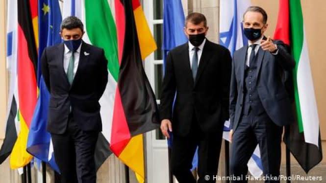 Pertama Kali, Menlu Israel dan Uni Emirat Arab Tatap Muka di Berlin