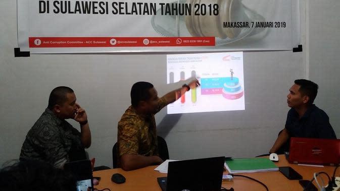 ACC Sulawesi menyayangkan kasus korupsi pengadaan 1000 kandang ayam di Kota Palopo mangkrak (Liputan6.com/ Eka Hakim)