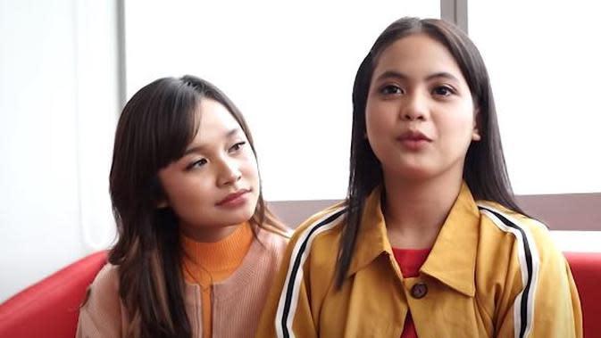 Potret dua penyanyi berbakat, Tasya Rosmala dan Putri DA. (Sumber: YouTube/3D Entertainment)