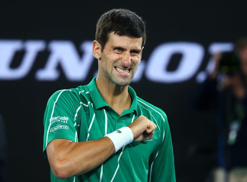 Djokovic targets Grand Slam record in two seasons