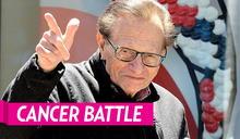 美資深主持人賴瑞金自爆罹肺癌 已動手術