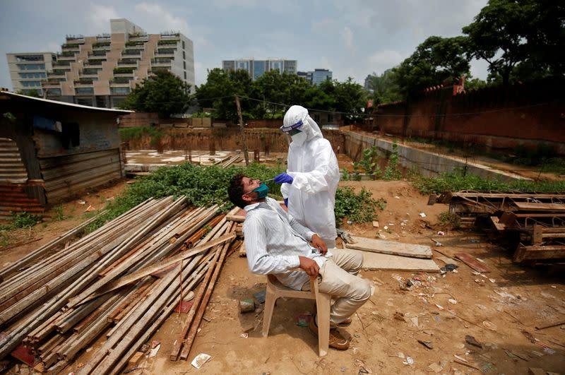 India crosses four million coronavirus cases with record surge