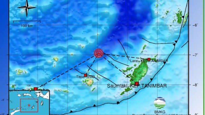 667 Gempa Tektonik di Indonesia Hanya dalam Bulan Juni 2020