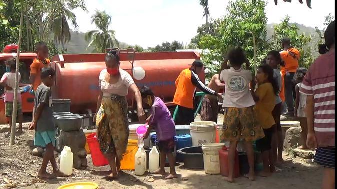 Krisis Air Bersih Parah Melanda Kabupaten Sikka NTT