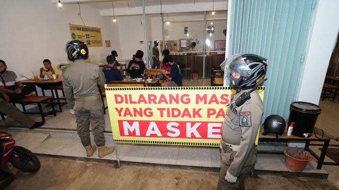 Operasi Yustisi Digelar Masif, Banyuwangi Disiplinkan Warga untuk Bermasker