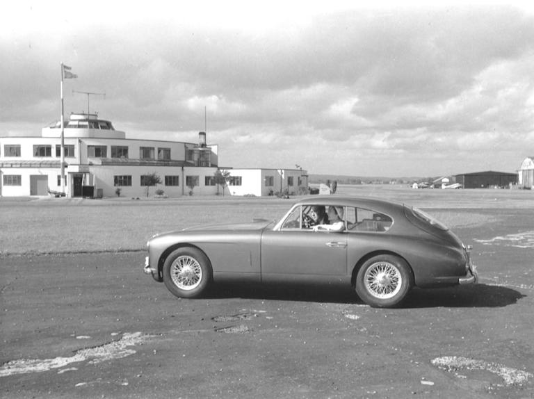 DB 2-4 (1953-1955) - The DB2-4 is recognised as the world's first hatchback and featured a 2.6 litre engine producing 125 bhp and a top speed of 120 mph (AMHT)