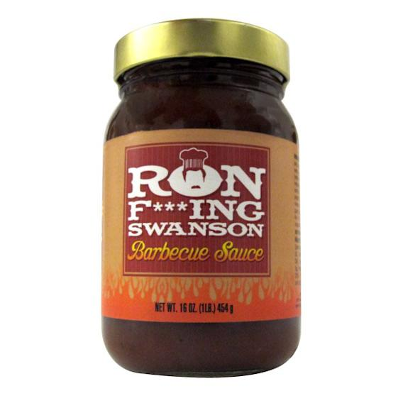 """Parks and Recreation"" Ron F***ing Swanson BBQ Sauce"