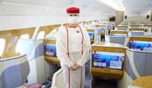阿聯酋航空提升新冠肺炎保障 隔離/治療/取消均有賠償