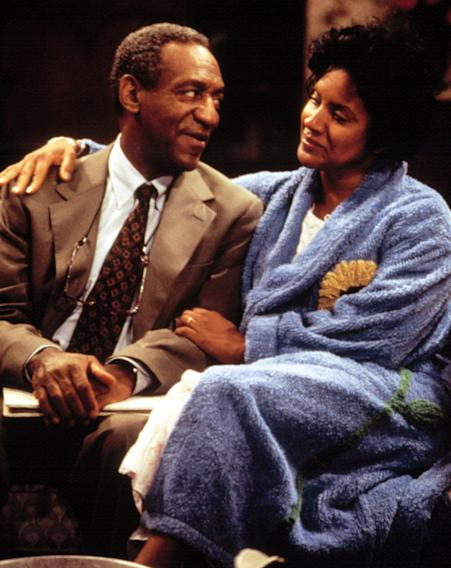 Cliff and Clair Huxtable (The Cosby Show)