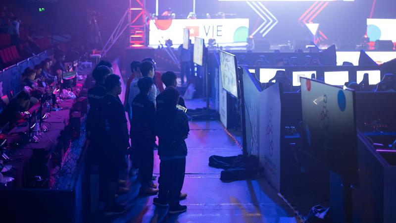 Esports at the SEA Games (Photo: Yahoo Esports SEA)