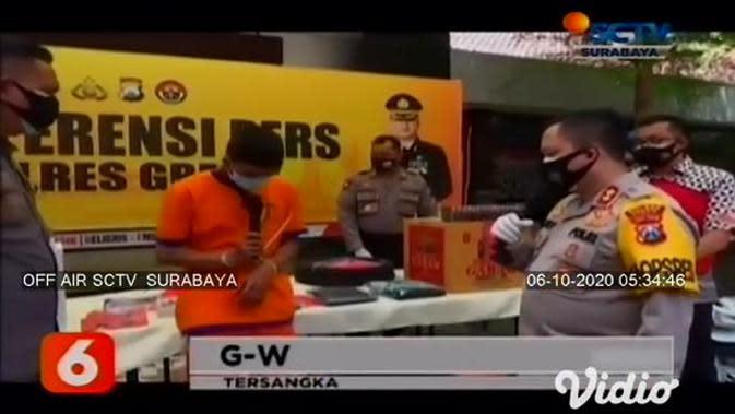 VIDEO: Polisi Bekuk Tiga Pelaku Pembobolan Toko di Gresik