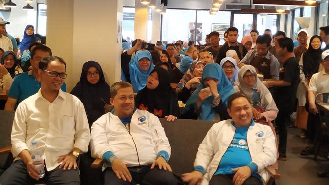 Anis Matta, Fahri Hamzah, dan Mahfudz Siddiq hadir dalam syukuran Partai Gelora. (Merdeka.com)