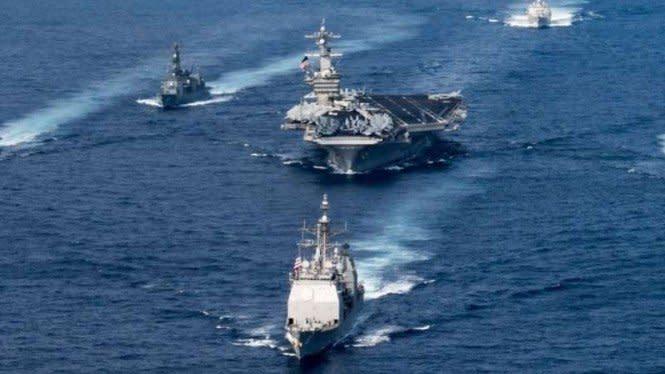 Ditinggal Filipina, AS Minta Dukungan Indonesia di Laut China Selatan
