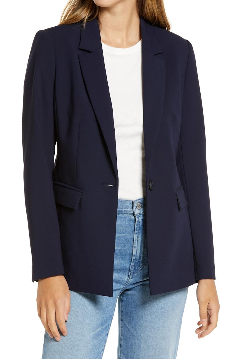 Halogen Pocket Blazer. Image via Nordstrom.