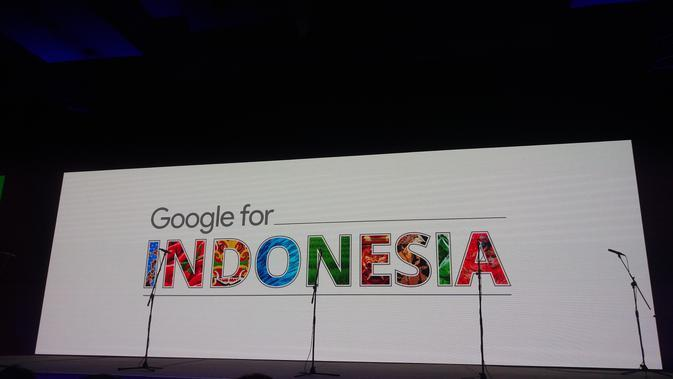 Google For Indonesia. Liputan6.com/Jeko Iqbal Reza