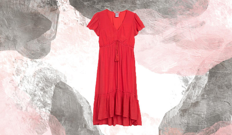 Ensure all eyes are on you with this bright-red stunner. (Photo: Nordstrom Rack)