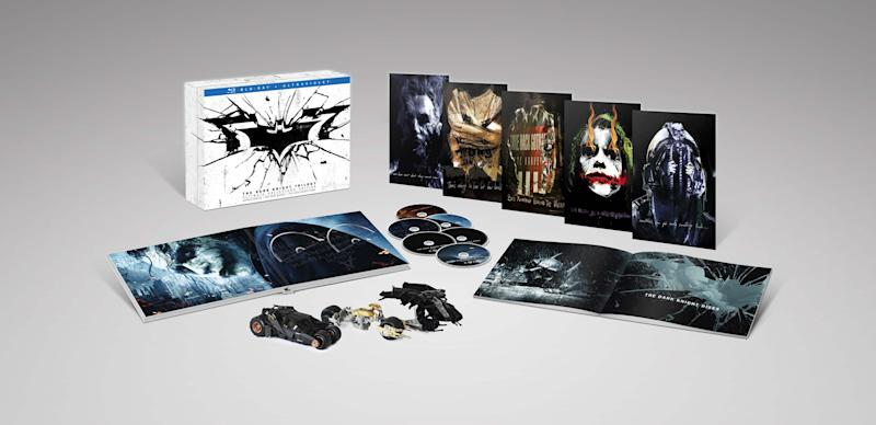 Holy 'Dark Knight Trilogy: Ultimate Collector's Edition' Giveaway and Clip, Batman!