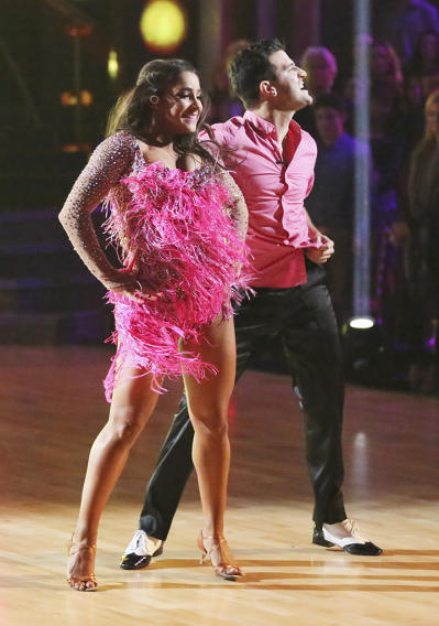 Alexandra Raisman and Mark Ballas (3/18/13)