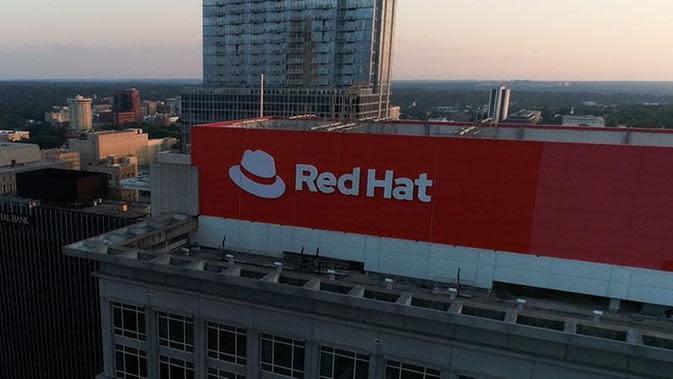 Logo Red Hat. Kredit: Red Hat