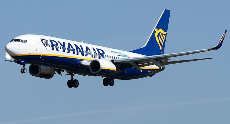 Ryanair plane. Source: Getty Images (File pic)