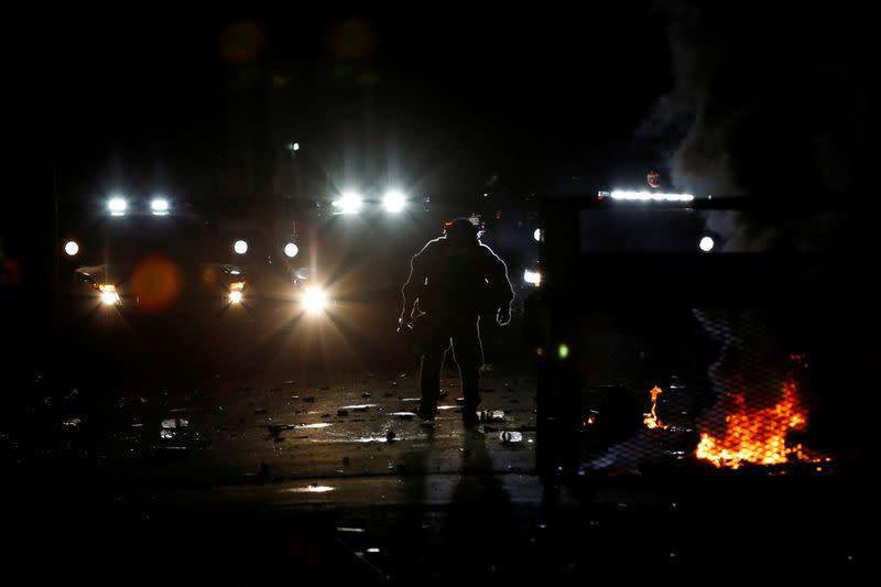 Biden condemns Portland violence, says Trump 'recklessly encouraging' it
