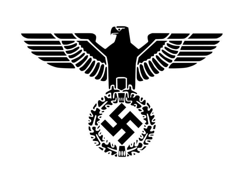 鐵十字與帝國之鷹呢?