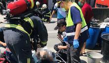 彰化二林民宅中午火警 全盲女國中生與2歲妹急救不治