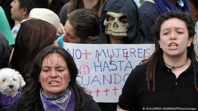 Perempuan Kolumbia. (Source: AFP/Guillermo Legaria)