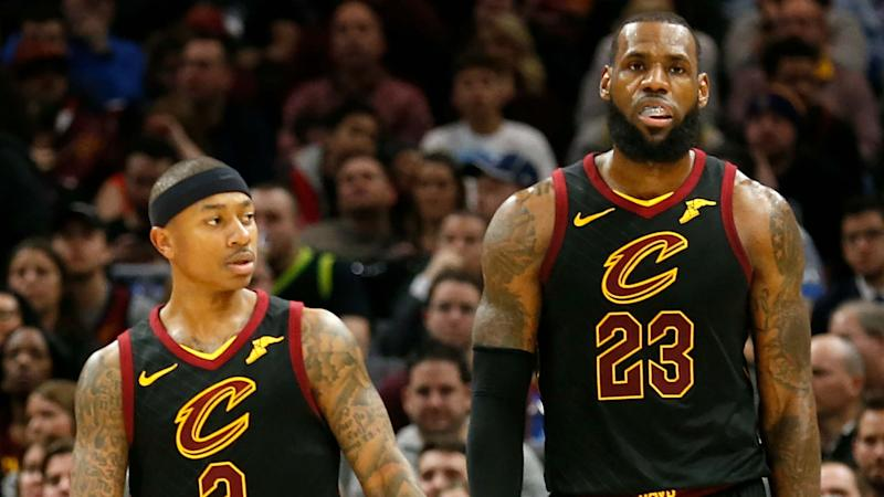 ab1321d51907 LeBron James is reportedly unhappy with how he and Isaiah Thomas are ...