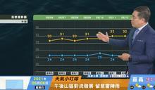 一分鐘報天氣 /週五(05/07日) 近期鋒面偏北活動  午後陣雨天氣為主