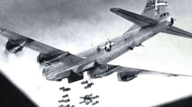 VIVA MiliterL Pesawat pembom B-29 Stratofortress Angkatan Udara AS