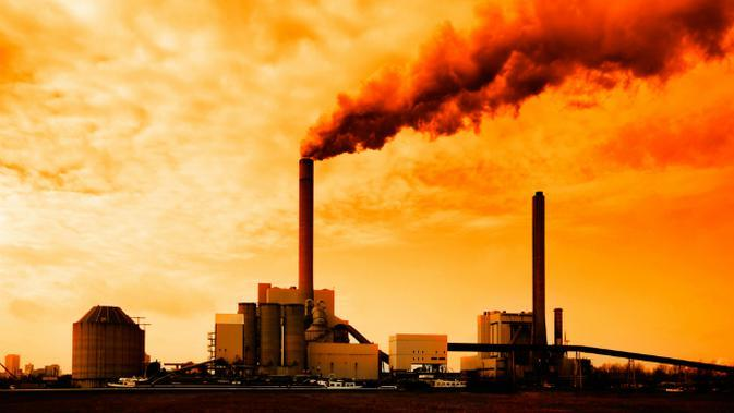 Ilustrasi polusi udara oleh asap pabrik. (Sumber Environmental Protection Agency/EPA)