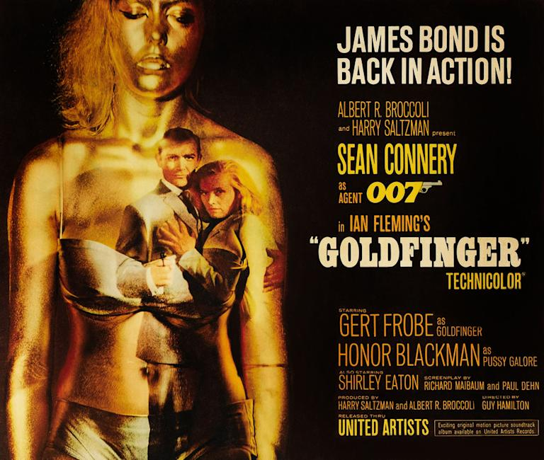James Bond Poster Gallery